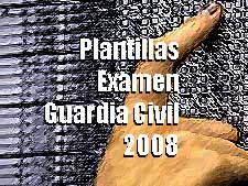 plantillas examen guardia civil