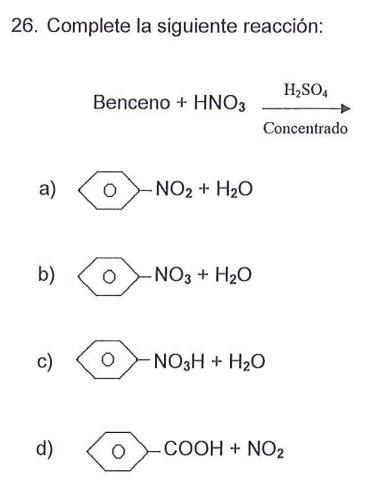 TEST DE BENCENO