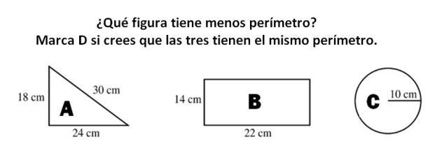 TEST DE ÁREAS