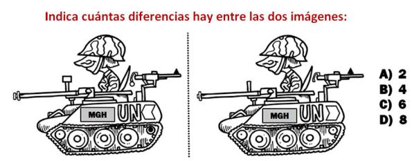 TEST DE DIFERENCIAS